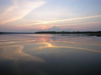 Рыбинское водохранилище фото