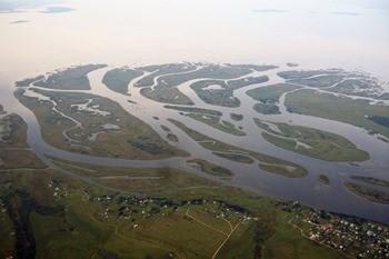 Устье реки Великой фото