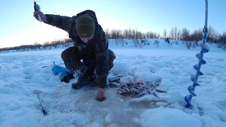 зимняя рыбалка в Республике Коми