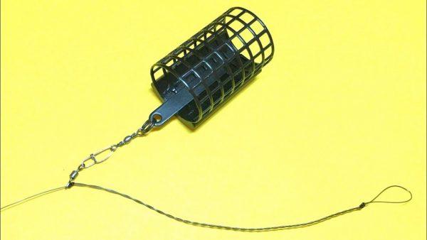 ВИДЕО: Фидерная оснастка running feeder rig   монтаж фидерной оснастки   фидер для начинающих рыбалка 2020