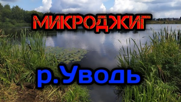 ВИДЕО: Микроджиг на реке Уводь в черте города. Рыбалка в Иваново. Ловля окуня и плотвы на спиннинг.