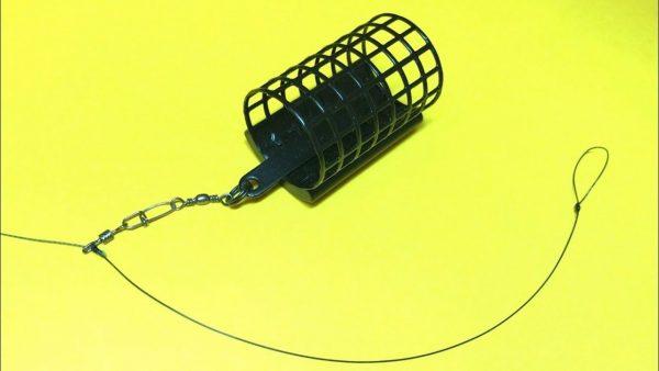 ВИДЕО: Фидерная оснастка running feeder rig | фидерный монтаж на плетеном шнуре | фидер для начинающих