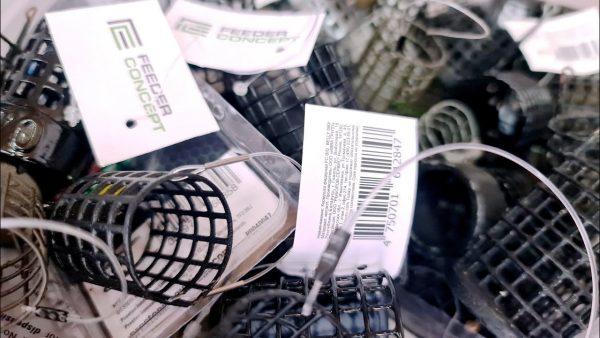 ВИДЕО: Ловля на фидер 2021. Металлические фидерные кормушки