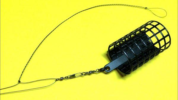 ВИДЕО: Фидерная оснастка несимметричная петля. Фидер для начинающих. Самоделки для рыбалки. Рыбалка 2021