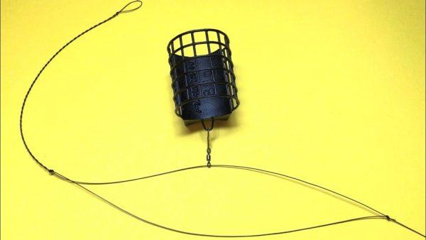 ВИДЕО: Фидерная оснастка симметричная петля. Фидер для начинающих. Самоделки для рыбалки. Рыбалка 2021