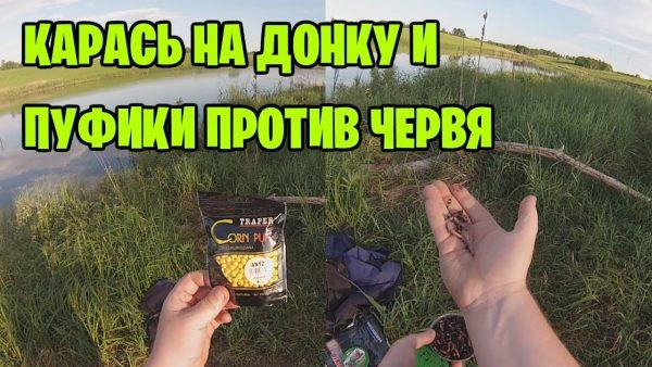 ВИДЕО: Пуфики с анисом против красного червя – Ловлю карася на донку