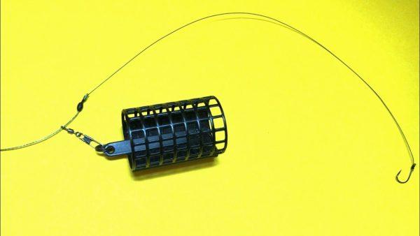 ВИДЕО: Фидерная оснастка на плетеном шнуре. Фидер для начинающих. Лайфхаки и самоделки для рыбалки. Рыбалка
